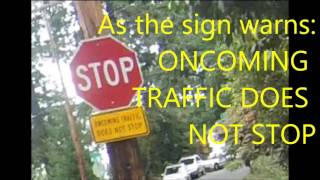 patton oncoming traffic does not stop 301 gtf 10 6 2016