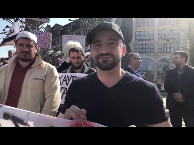 Митинг в поддержку ингушского народа в Гамбурге