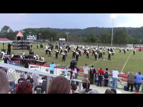 Boyle County Marching Band - Finals at Casey County 10-01-16