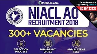 NIACL AO Recruitment 2018 | Administrative Officer Selection Process & Exam Fees | 312 Vacancies