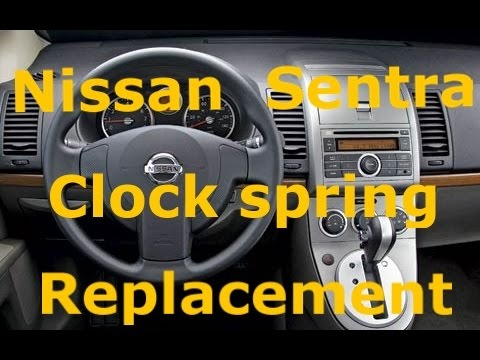 How to: 2007-2012 Nissan Sentra Clock Spring/Spiral Cable ...