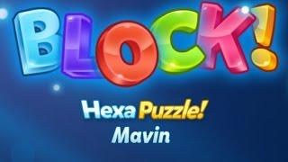 BLOCK! Hexa Puzzle! Mavin Level 1-100 (Premium) - Lösung Solution Answer Walkthrough