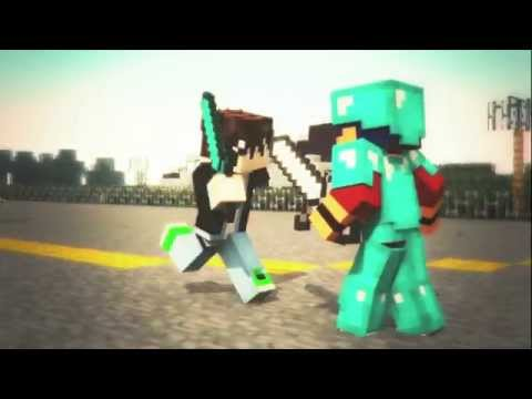 Deneysel Oyuncu Minecraft Animation İntro #17