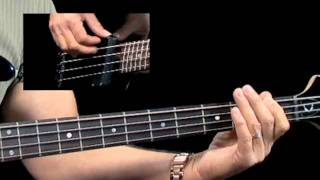 How to Play Blues Bass - #3 Rhythm 101 - Bass Guitar Lessons for Beginners