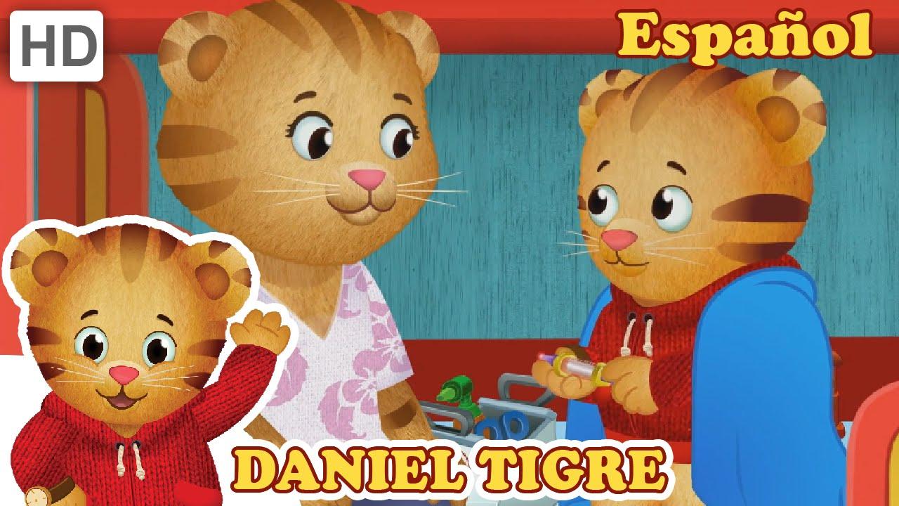 Daniel Tigre en Español - Daniel Recibe Una Inyección ...