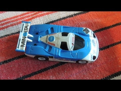 Toyota 88CV, Aurora, TOMY, AFX, Slot Car Racing, on Tyco tracks