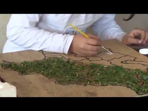 Maqueta de un mapa escolar  YouTube