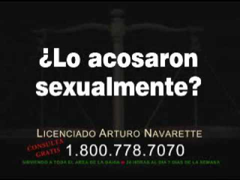 SEXUAL HARASSMENT - ACOSO SEXUAL