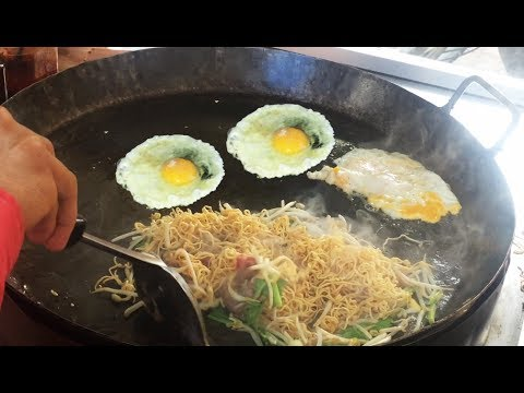 Asian Street Food, Fast Food Street in Asia, Cambodian Street food #250