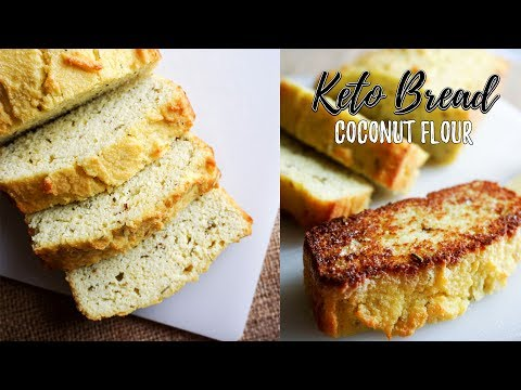 low-carb-bread-recipe-|-keto-bread-using-coconut-flour