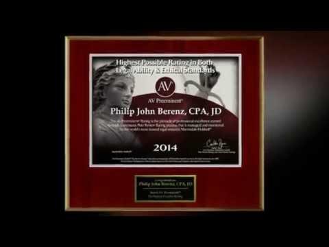 Chicago Injury Attorney- Philip J. Berenz, CPA, JD – Call 312-375-6524