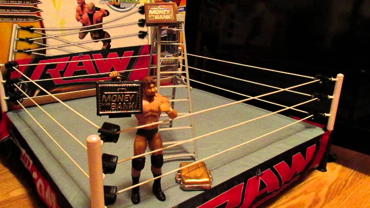 wwe authentic scale ring wicked cool toys unboxing part 2 youtube