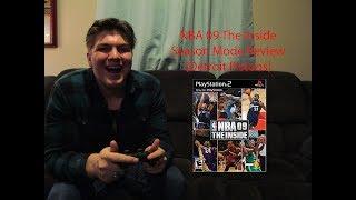 NBA 09 The Inside Season Mode Review Ep. 9: R.S.W. 16(Trailblazers@Pistons) 17(Pistons@Spurs) (PS2)