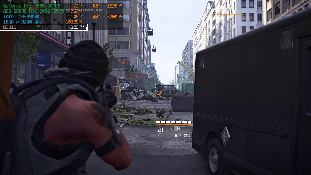 PC Gaming Cerberus III - The Division 2 Gameplay & FPS