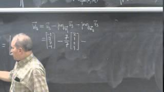 Shifrin Math 3500 Day 55: Gram-Schmidt & Lagrange Interpolation
