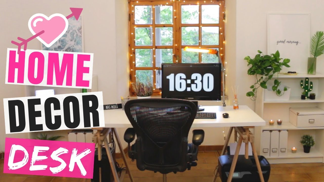 Come Organizzare La Propria Scrivania room decor: 10 idee per decorare la camera e la scrivania