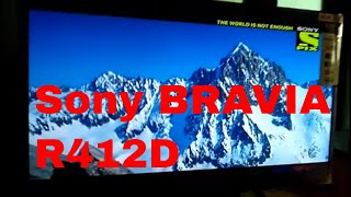 Sony BRAVIA KLV-32R412D HD Ready LED TV Review/demo