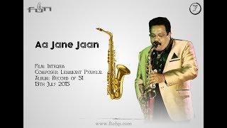 Aa jane jaan | Saxophone Cover by Shripad Solapurkar | Record of 51