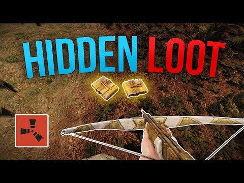 LUCKY STASH LOOT FIND! - Rust Solo