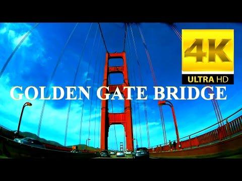 GOLDEN GATE BRIDGE - BAY AREA, CALIFORNIA IN 4K [ULTRA-HD]
