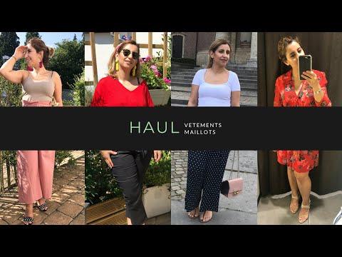Haul Soldes Été ||مشترياتي للصيف من الملابس و الأحذية ، مايو السباحة .. 🤪 thumbnail
