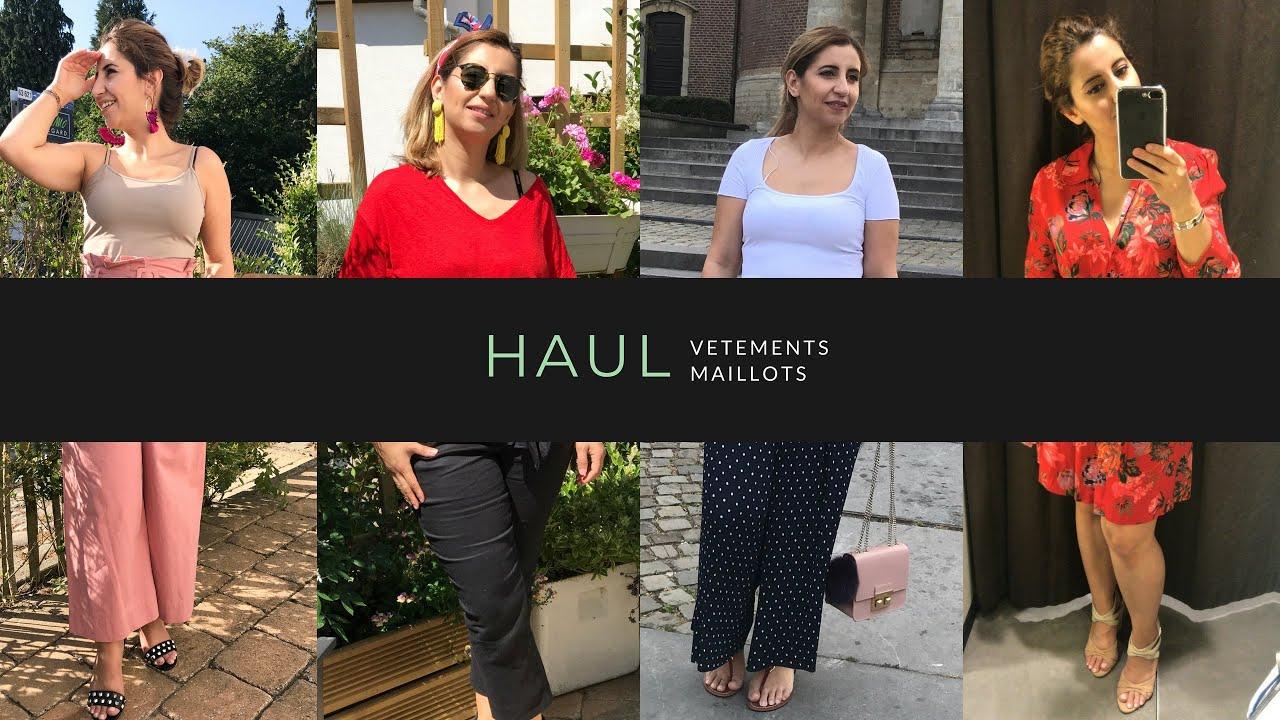 Haul Soldes Été   مشترياتي للصيف من الملابس و الأحذية ، مايو السباحة .. 🤪