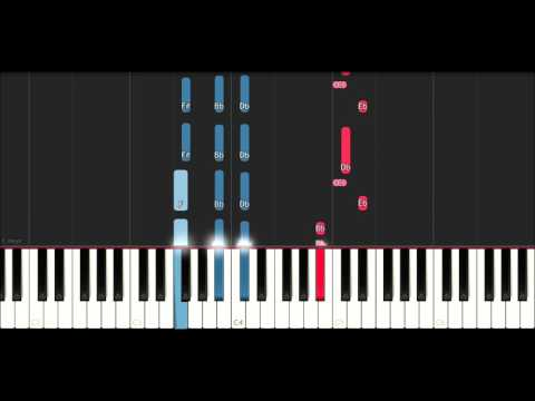 Take That - New Day (Piano Tutorial )