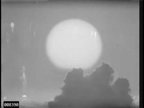 Housatonic Fireball - 8.3 Megaton Airdrop - Operation Dominic (1962)