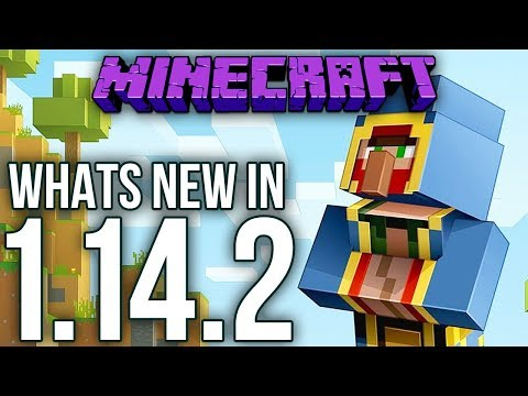 Whats New In Minecraft 1.14.2 Java Edition?