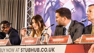 Eddie Hearn & Matchroom Boxing: Anthony Crolla FAREWELL FIGHT, Katie Taylor | Full Press Conference