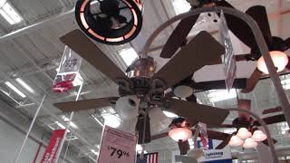 2012 ceiling fans at Lowes
