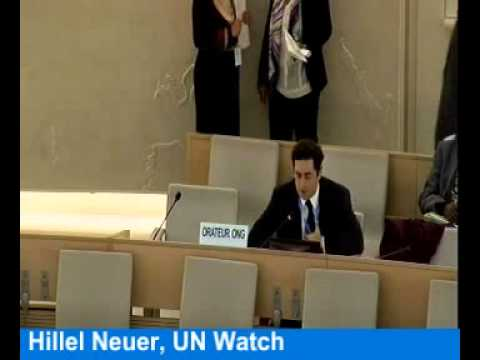 Hate Israel Day At The UN Human Rights Council, Sept. 24