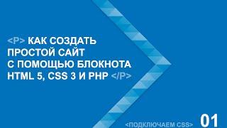 Подключение CSS для новичков, меняем шрифты, управляем миром.