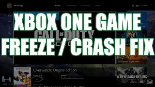 My Xbox One Game Won't Start Or Freezes During Gameplay | Xbox One Ambassador Tutorial #1