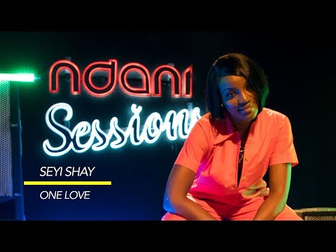 Seyi Shay Performs an Acoustic Version of One Love on NdaniSessions