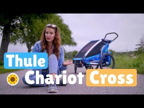 Unser Fahrradanhänger! || Thule Chariot Cross Review || Multimoms