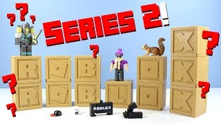 ROBLOX Series 2 Mystery Boxes Toy Review with Gameplay Jazwares
