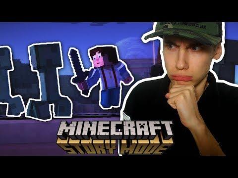 SPRINGEN OF NIET? (Minecraft Story Mode #2)