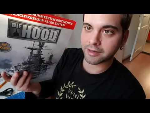 HMS Hood BB001 - Baubeginn