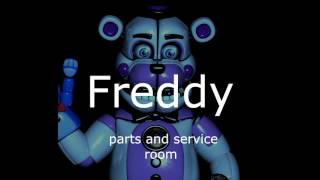 All Animatronic Voices   FNaF Sister Location