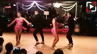 Amaya Dance Semi Pro Performance at Sunday Funday Salsa Social Houston