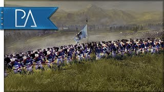 BATTLE OF TACTICS: UPHILL BATTLE - Napoleon Total War Gameplay