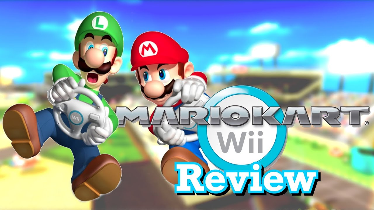 Mario Kart Wii Review Youtube