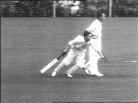 British Movietone news Sport on cricket | Thames News Archive Footage