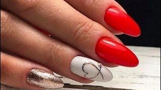 Очень Красивый Маникюр на 14 Февраля 2021 35 идей маникюра на День Влюблённых Nails
