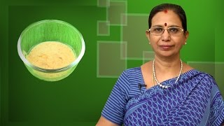 Millet Porridge | Mallika Badrinath Recipes | Child Food