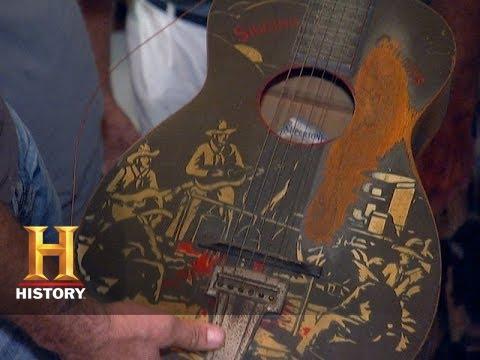 American Pickers: Singing Cowboy | History