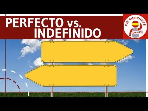 Pretérito Perfecto vs. Indefinido - Unterschied - Bildung, Anwendung, Signalwörter & Beispiele