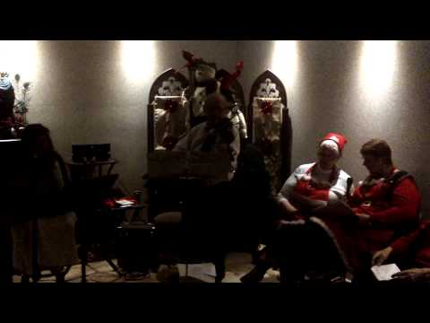 Herbie and Friends Rock Christmas 2014 Orillia - Here Comes Santa Claus