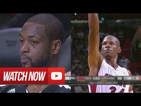 2014.03.16 - Dwyane Wade & Ray Allen Full Combined Highlights vs Rockets